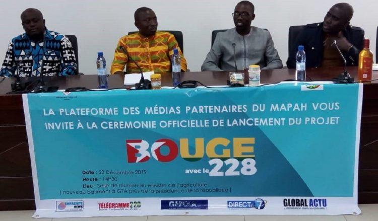 Le projet 'Bouge avec le 228' lancé pour promouvoir la consommation des produits locaux